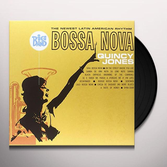 Quincy Jones BIG BAND BOSSA NOVA (BONUS TRACKS) Vinyl Record - Limited Edition
