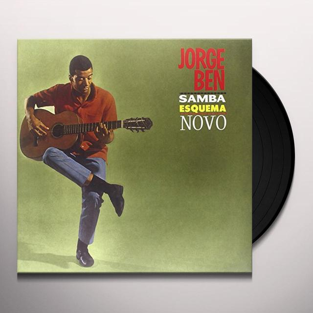 Jorge Ben SAMBA ESQUEMA NOVO Vinyl Record - Limited Edition