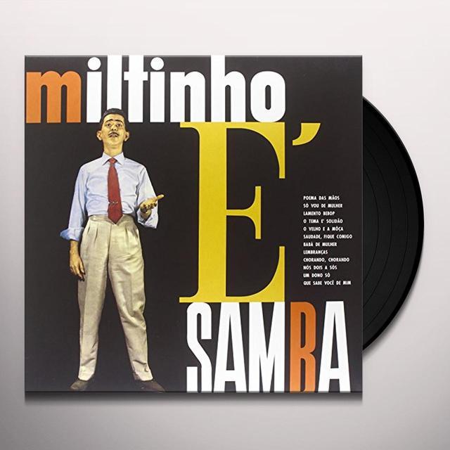 MILTINHO E SAMBA Vinyl Record - Limited Edition