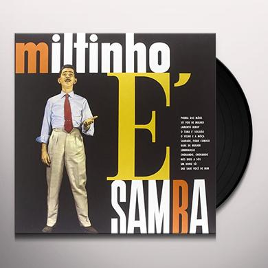 MILTINHO E SAMBA Vinyl Record - Limited Edition