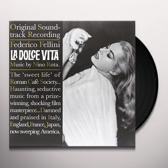 Nino (Ltd) Rota LA DOLCE VITA / O.S.T. Vinyl Record - Limited Edition