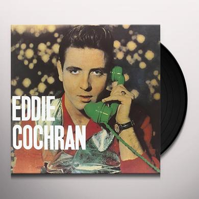 Eddie Cochran BEST SONGS OF Vinyl Record - Limited Edition