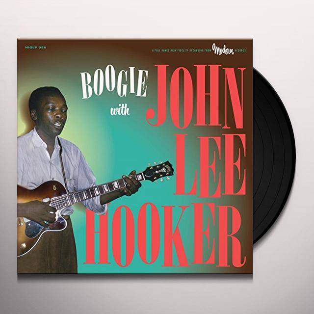 BOOGIE WITH JOHN LEE HOOKER Vinyl Record