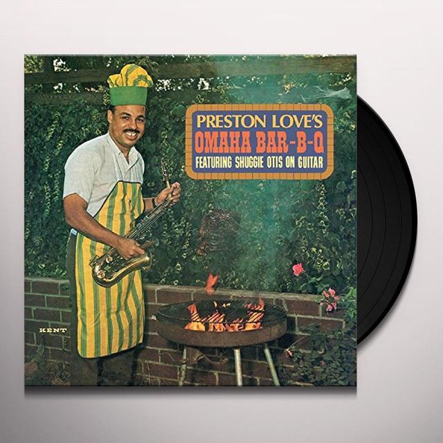Preston Love OMAHA BAR-B-Q Vinyl Record - UK Import