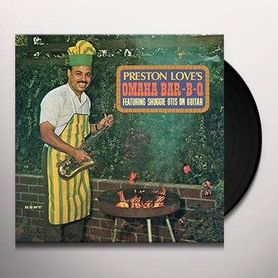 Preston Love OMAHA BAR-B-Q Vinyl Record - UK Import