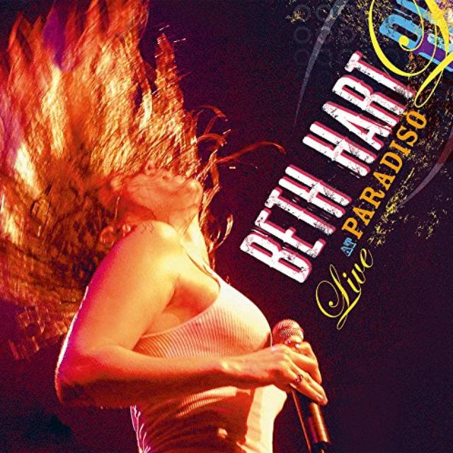 Beth Hart LIVE AT PARADISO Vinyl Record - Holland Release