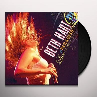 Beth Hart LIVE AT PARADISO Vinyl Record - Holland Import