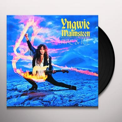 Yngwie Malmsteen FIRE & ICE Vinyl Record - Holland Import