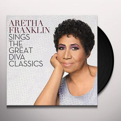 ARETHA FRANKLIN SINGS THE GREAT DIVA Vinyl Record - Holland Import