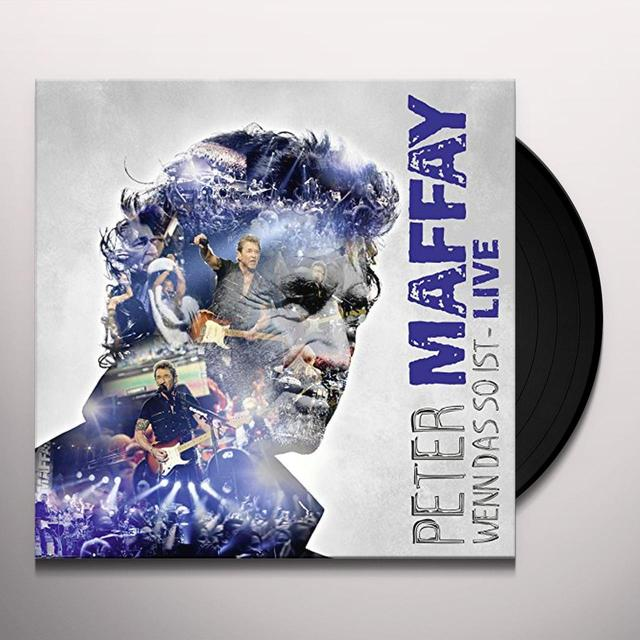 Peter Maffay WENN DAS SO IST-LIVE (GER) Vinyl Record