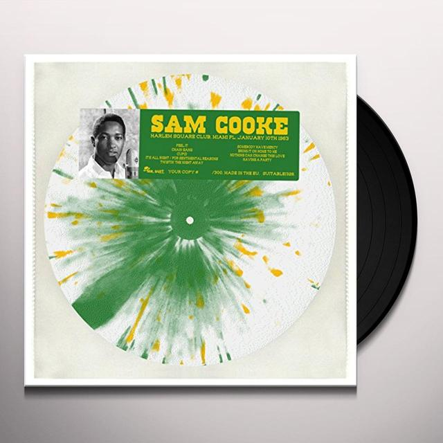 Sam Cooke HARLEM SQUARE CLUB MIAMI FL JANUARY 12 1963 Vinyl Record - Italy Release