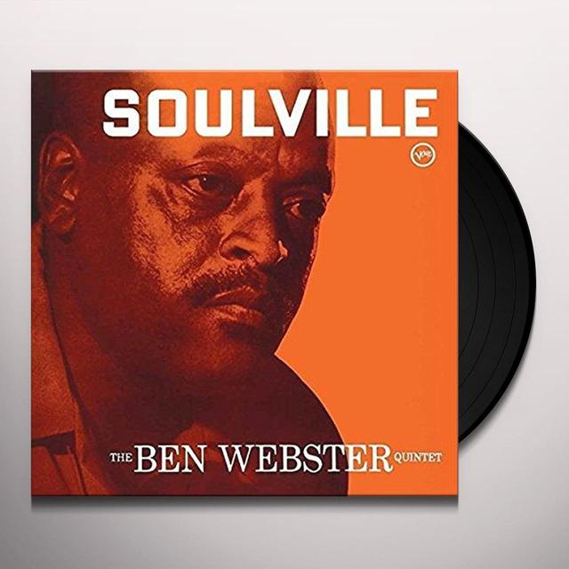 Ben Webster SOULVILLE Vinyl Record - UK Release