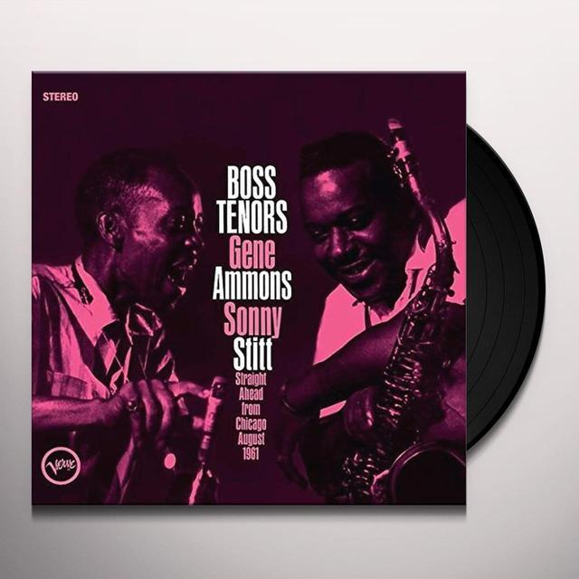 Gene Ammons-Sonny Stitt BOSS TENORS Vinyl Record - UK Release