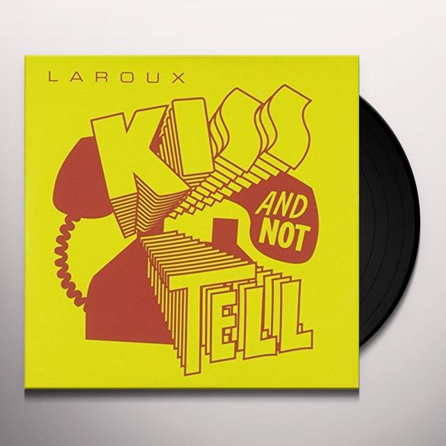 La Roux KISS & NOT TELL Vinyl Record - UK Import