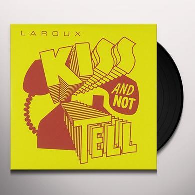 La Roux KISS & NOT TELL Vinyl Record - UK Import