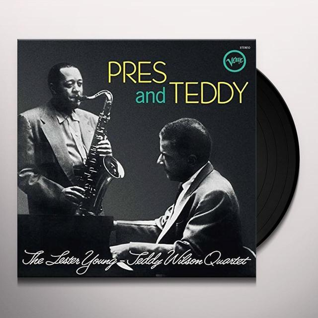 Lester Young & Teddy Wilson Quartet PRES & TEDDY Vinyl Record - UK Release