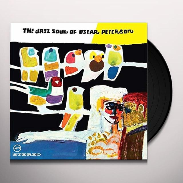 JAZZ SOUL OF OSCAR PETERSON Vinyl Record - UK Release