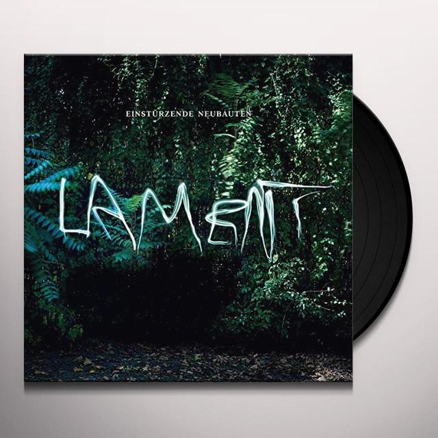 Einstürzende Neubauten LAMENT Vinyl Record - UK Import