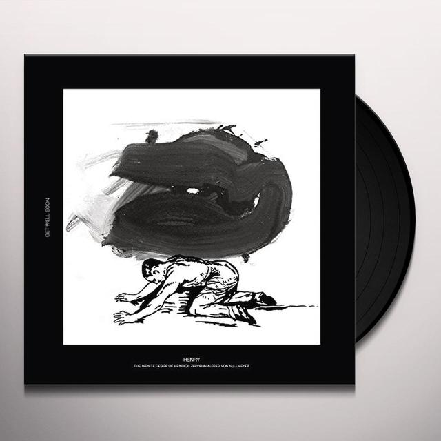 Get Well Soon HENRY-THE INFINITE DESIRE OF HEINRICH Vinyl Record - UK Import