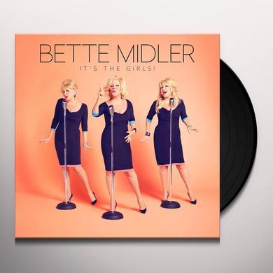 Bette Midler IT'S THE GIRLS Vinyl Record - UK Import