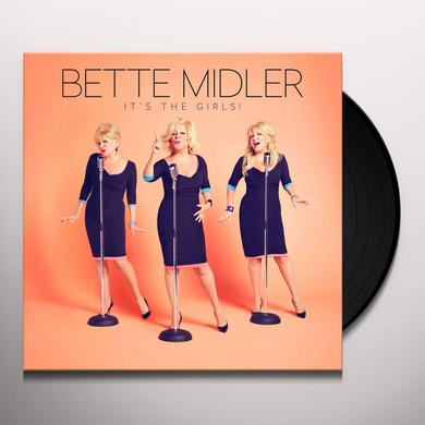 Bette Midler IT'S THE GIRLS Vinyl Record