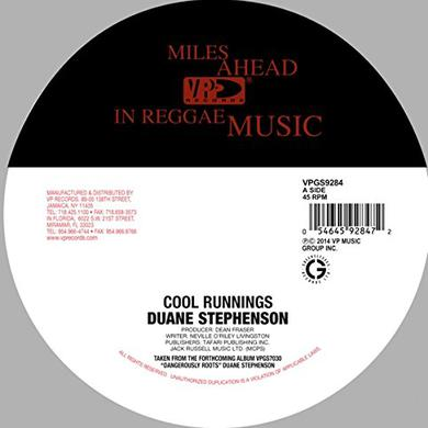 Duane Stephenson COOL RUNNINGS Vinyl Record
