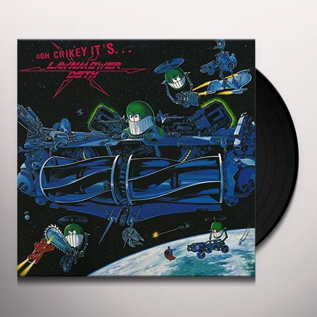 OOH CRIKEY IT'S LAWNMOWER DETH Vinyl Record