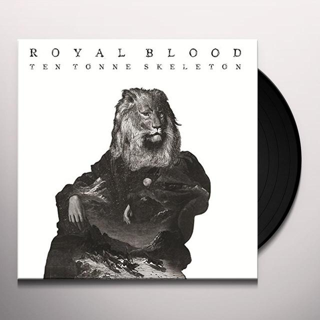 Royal Blood TEN TONNE SKELETON Vinyl Record - UK Release