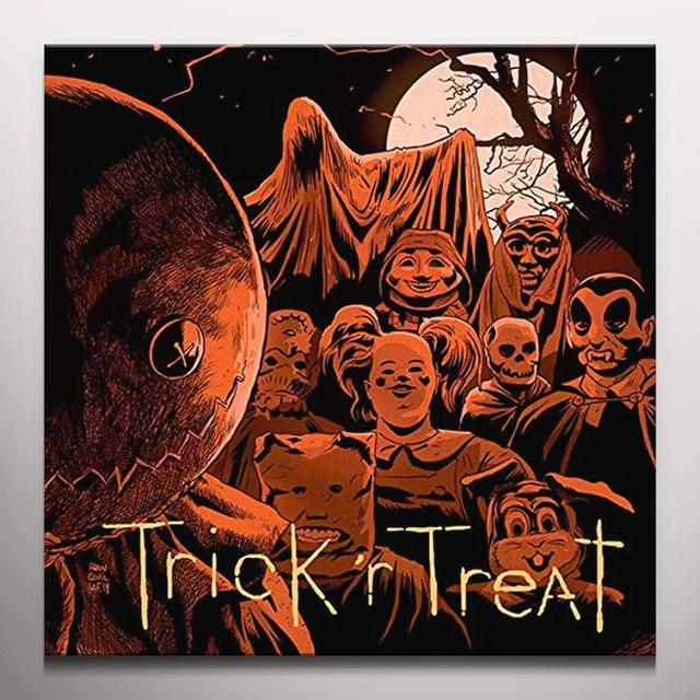 Douglas Pipes TRICK R TREAT / O.S.T. Vinyl Record - Gatefold Sleeve, 180 Gram Pressing, Orange Vinyl, Poster