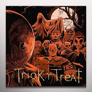 Douglas Pipes TRICK R TREAT / O.S.T. Vinyl Record - Gatefold Sleeve, 180 Gram Pressing, Orange Vinyl, Poster