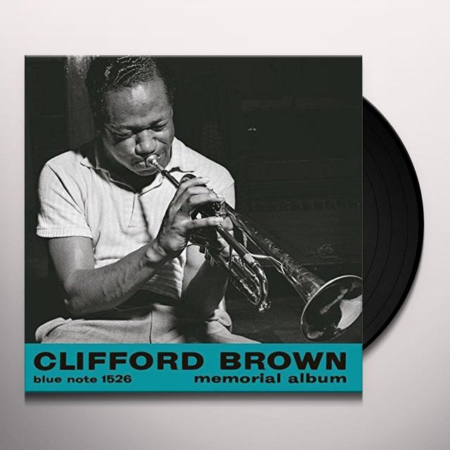 Clifford Brown MEMORIAL ALBUM Vinyl Record - Reissue