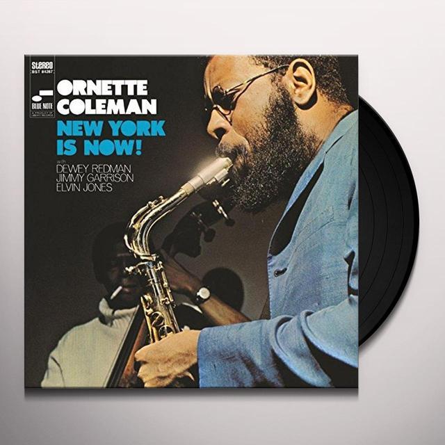Ornette Coleman NEW YORK IS NOW Vinyl Record
