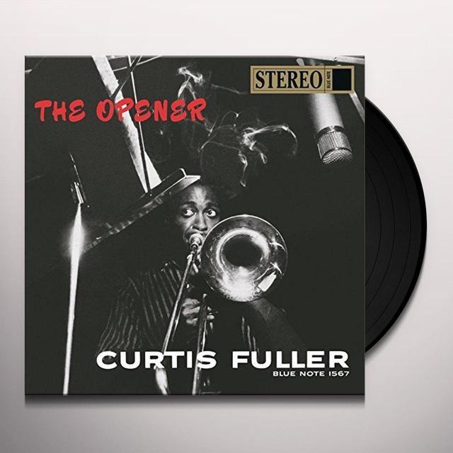 Curtis Fuller OPENER Vinyl Record - Reissue