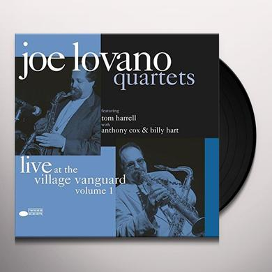 Joe Lovano QUARTETS: LIVE AT THE VILLAGE VANGUARD 1 Vinyl Record