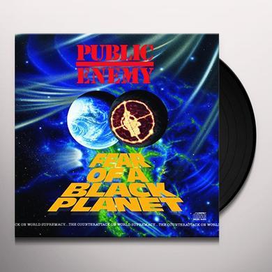 Public Enemy FEAR OF A BLACK PLANET Vinyl Record