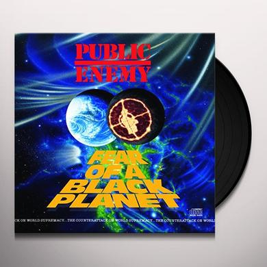 Public Enemy FEAR OF A BLACK PLANET Vinyl Record