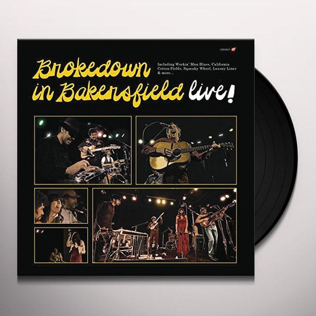 BROKEDOWN IN BAKERSFIELD LIVE Vinyl Record