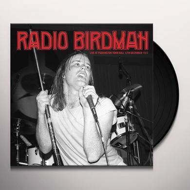 Radio Birdman LIVE AT PADDINGTON TOWN HALL 77 Vinyl Record