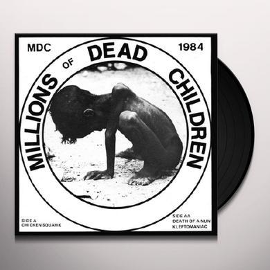 Mdc MILLIONS OF DEAD CHILDREN (CHICKEN SQUAWK) Vinyl Record