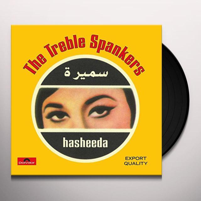 TREBLE SPANKERS HASHEEDA Vinyl Record - Holland Import