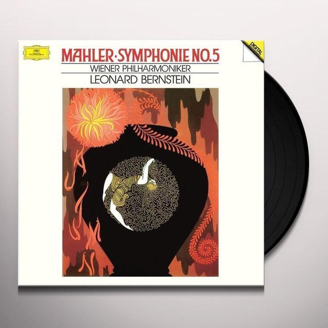 Leonard Bernstein MAHLER: SYMPHONY NO. 5 (HK) Vinyl Record