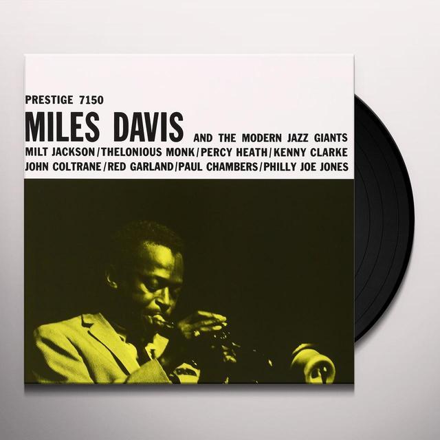 MILES DAVIS & THE MODERN JAZZ GIANTS (HK) Vinyl Record