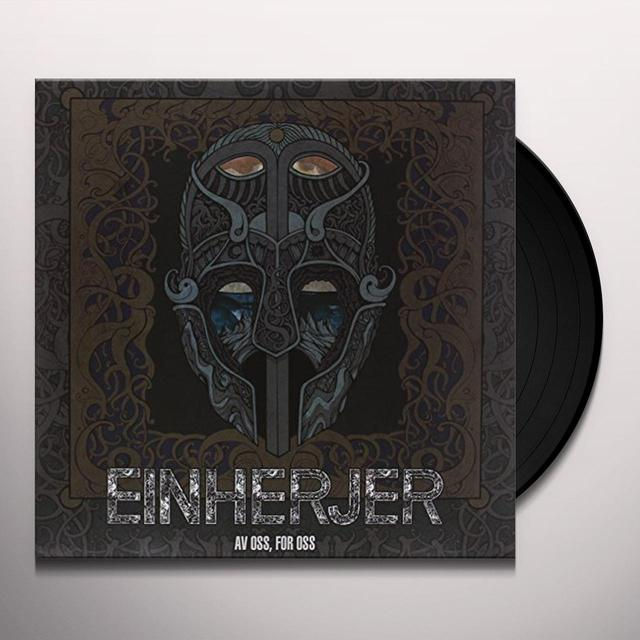 Einherjer AV OSS FOR OSS Vinyl Record - UK Release