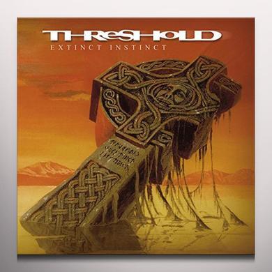 Threshold EXTINCT INSTINCT: RED VINYL Vinyl Record - Colored Vinyl, UK Import