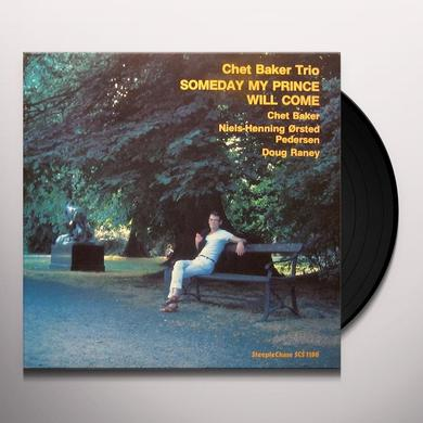 Chet Baker SOMEDAY MY PRINCE WILL COME Vinyl Record - UK Import