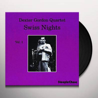 Dexter Gordon SWISS NIGHTS 1 Vinyl Record