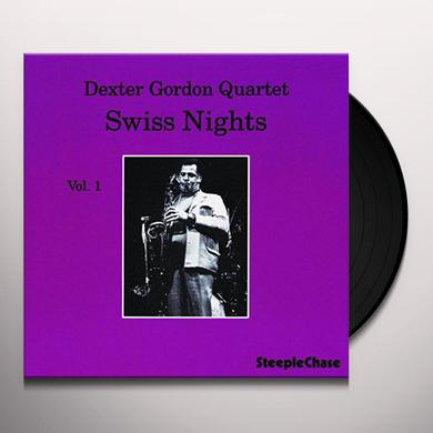 Dexter Gordon SWISS NIGHTS 1 Vinyl Record