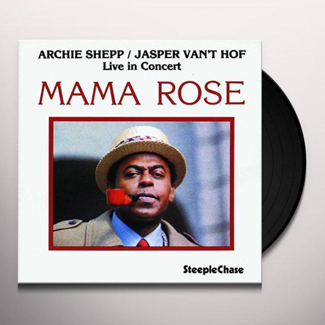 Archie Shepp MAMA ROSE Vinyl Record