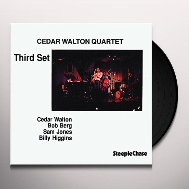 Cedar Walton THIRD SET Vinyl Record - UK Import