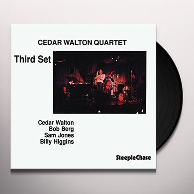 Cedar Walton THIRD SET Vinyl Record